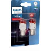 SET BECURI PHILIPS LED ROSU INTENS P21/5W
