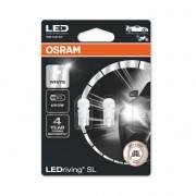 SET 2 BECURI AUXILIARE CU LED 12V (W5W) WHITE 6000K BLI OSRAM