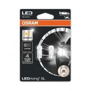 SET 2 BECURI AUXILIARE CU LED 12V (W5W) AMBER BLI OSRAM