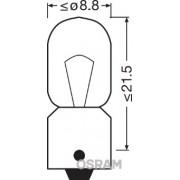 BEC 12V T4W ORIGINAL SET 10 BUC OSRAM