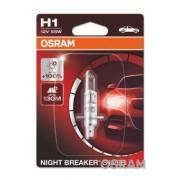 BEC 12V H1 55 W NIGHT BREAKER SILVER +100% BLISTER 1 BUC OSRAM