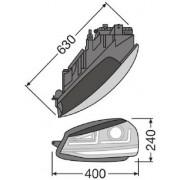 SET 2 FARURI LED PENTRU VW GOLF VII (2012-2016) CROM LEDriving XENON / POZITIE HALOGEN LEDHL104-CM OSRAM