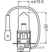 BEC 12V H3 55 W NIGHT BREAKER LASER +150% OSRAM