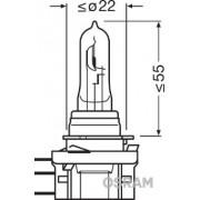 BEC CAMION 24V H15 20/60 W ORIGINAL OSRAM
