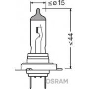 BEC 12V H7 55 W NIGHT BREAKER SILVER +100% OSRAM