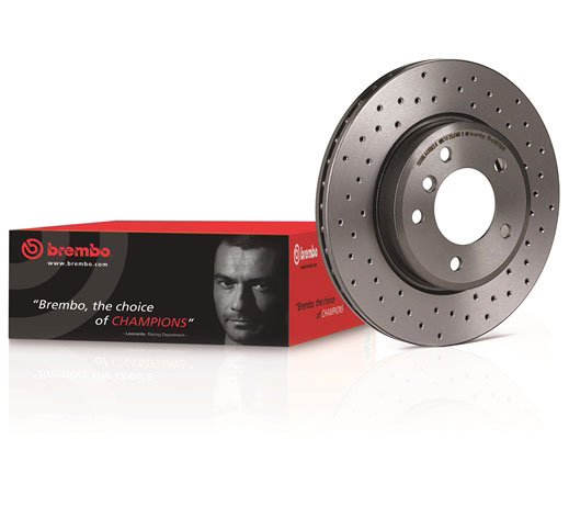 SET DISCURI VENTILATE SI PERFORATE BREMBO XTRA